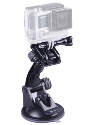 best gopro suction cup mount
