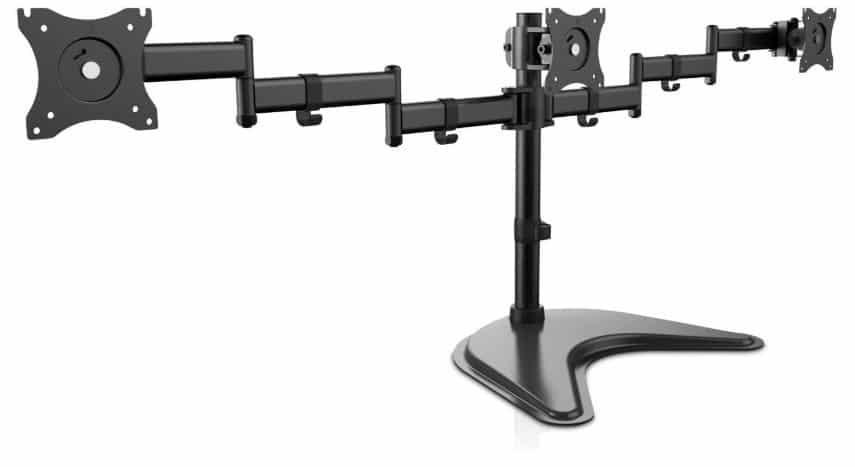 best triple mount stand