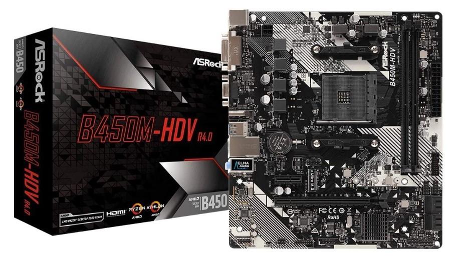 ASROCK B450M - Best Motherboard For Ryzen 9 3900x
