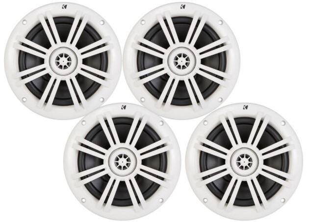 KICKER WHITE - Best 6.5 Speakers