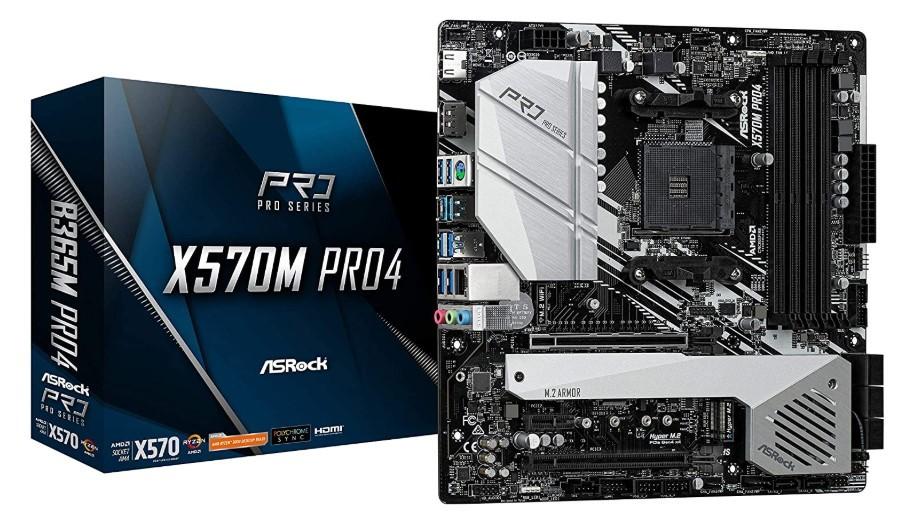 ASROCK AM4/X570M - Best Motherboard For Ryzen 9 3900x