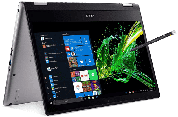 ACER SPIN 3 - best business laptop under 1000