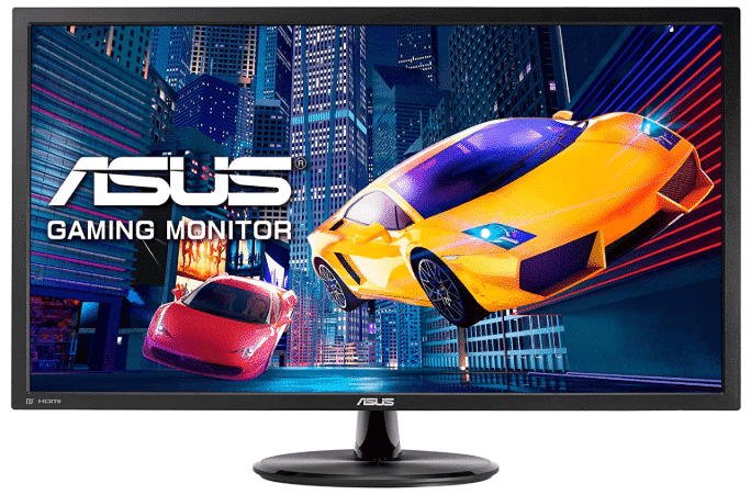 ASUS VP28UQG - best monitor for PS4 Pro