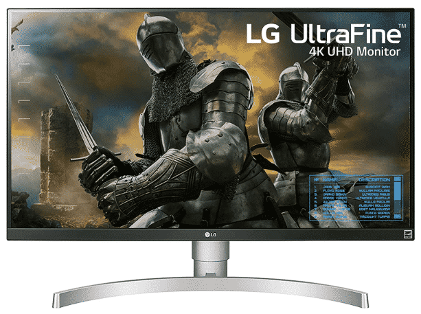 LG 27UK650-W - best monitor for PS4 Pro