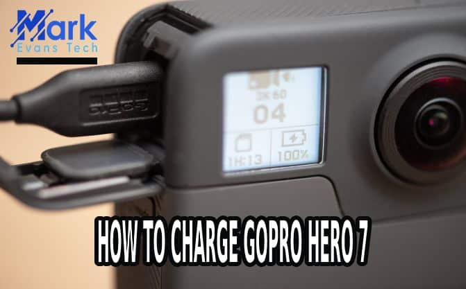 how to charge GoPro HERO 7