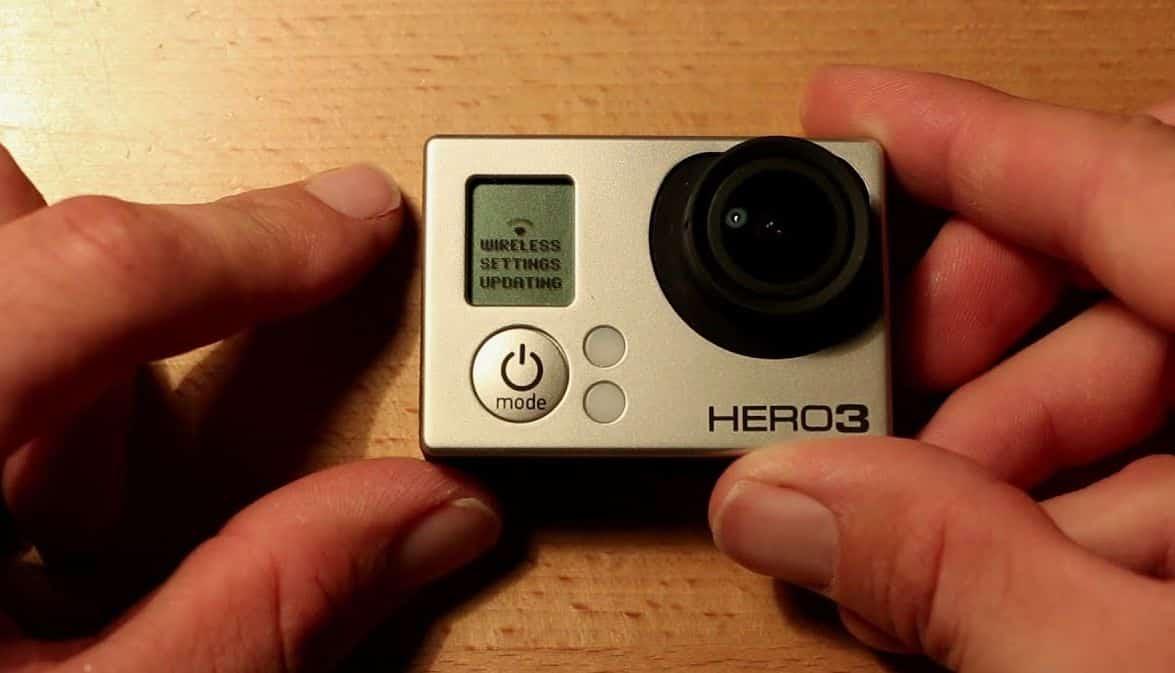 reset gopro hero3 wifi