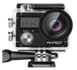 AKASO Brave 4-best action cam under 100