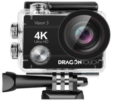 DRAGON Touch 4k-best action cam under 100