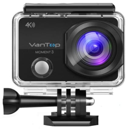 VanTop MOMENT 3-best action cam under 100
