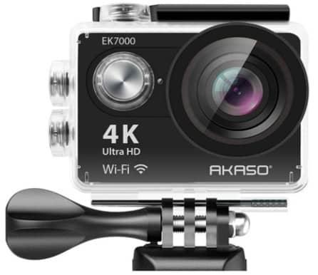 AKASO EK7000- best action cam under 100