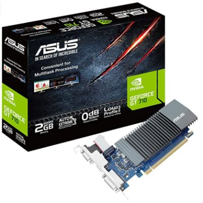 ASUS GT 710 - Best Graphics Card Without External Power