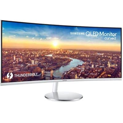 SAMSUNG LC34J791WTNXZA - BEST MONITOR WITH BUILT IN SPEAKERS
