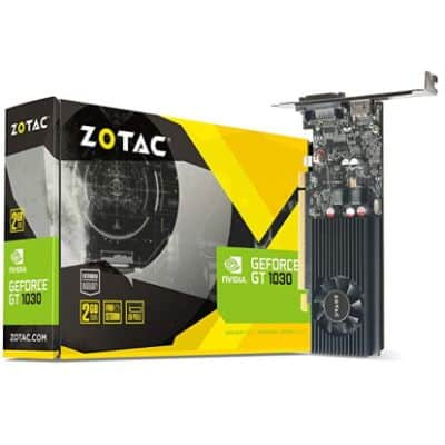 ZOTAC GT 1030 - BEST GRAPHICS CARD FOR AUTOCAD