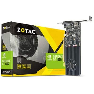 ZOTAC GT 1030 - Best Graphics Card Without External Power