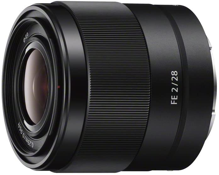 Sony SEL28F20  - best lens for Sony A7R IV