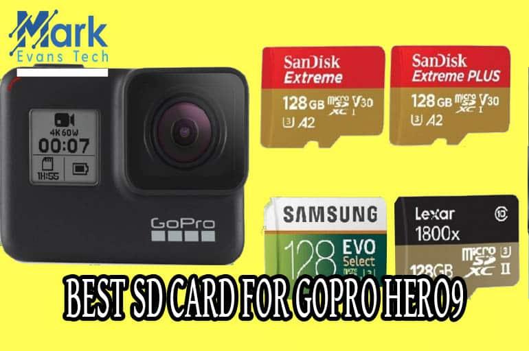 Best SD Card for GoPro HERO 9