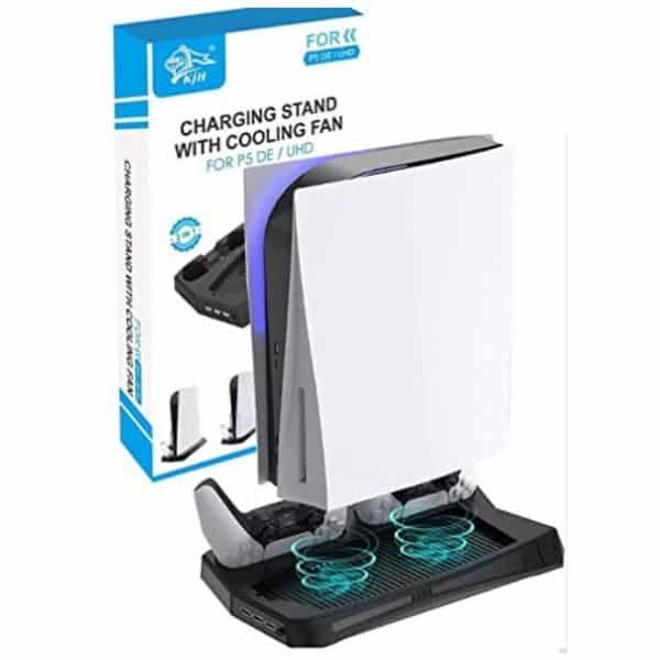 CXZ VERTICL STAND - BEST COOLING FAN FOR PS5