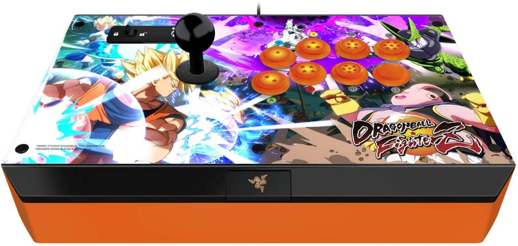 Razer Panthera Dragon Ball Fighter Z - Best Fightstick for PS5