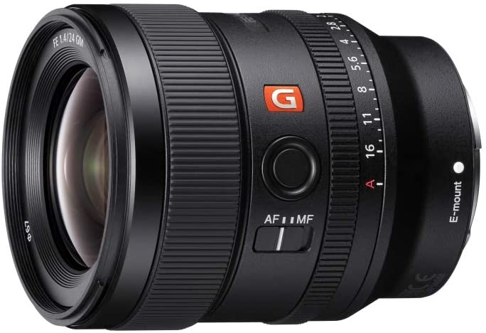 SONY FE 24MM  - best lens for Sony A7R IV