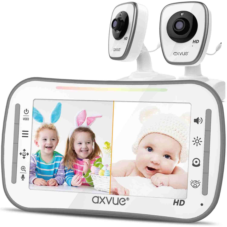 Axvue - best split screen baby monitor