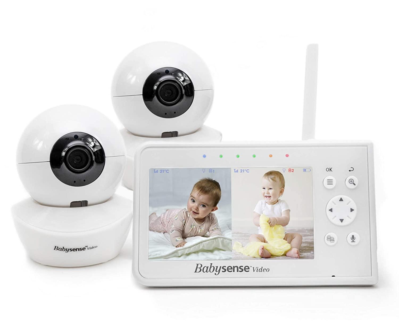 Babysense - best split screen baby monitor