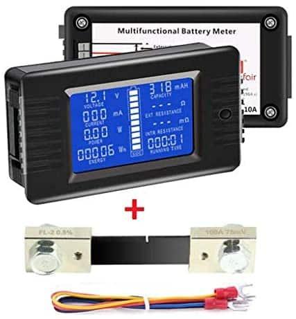 DC - best RV battery monitor