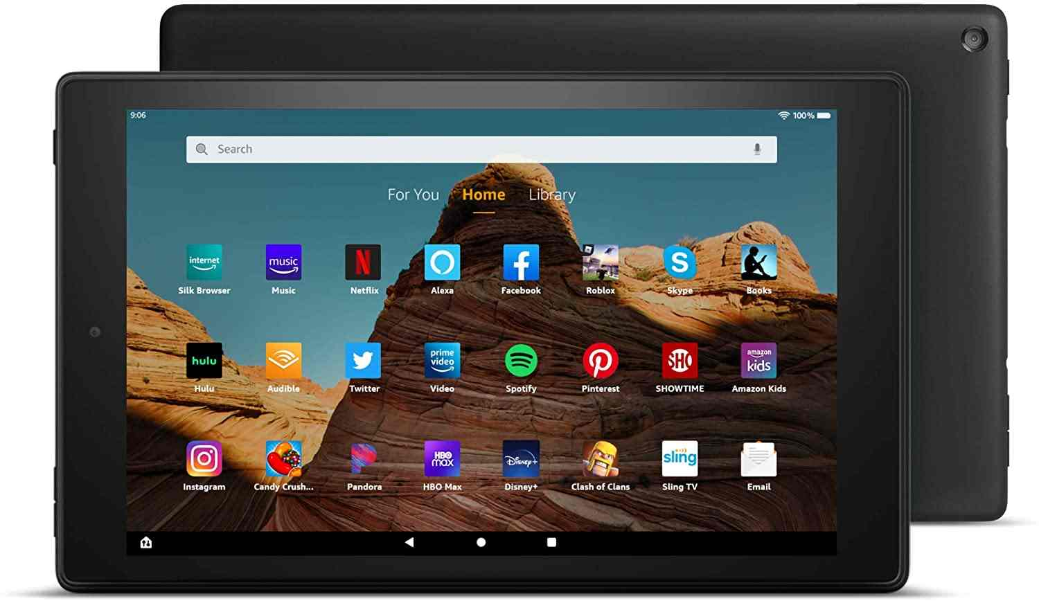Fire - best tablets for writers