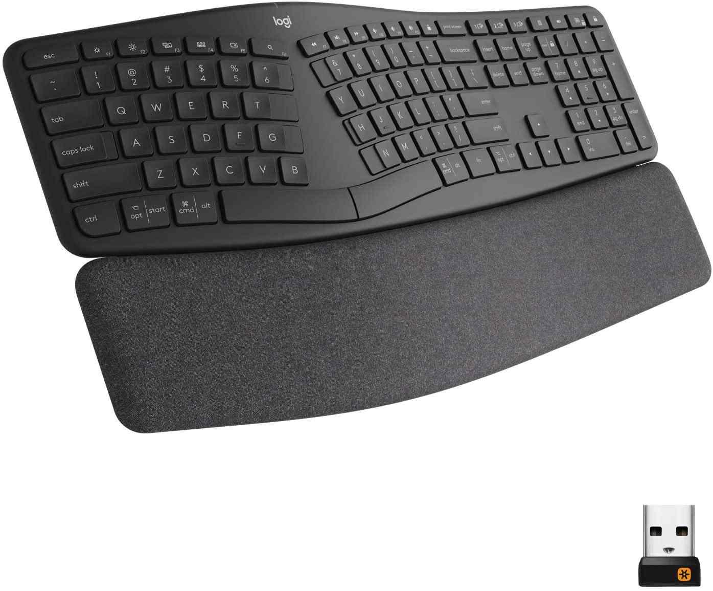 Logitech - best ergonomic keyboard for Mac