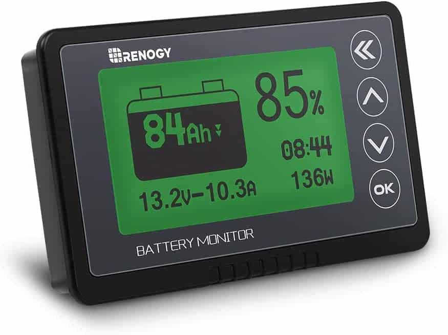 Renogy - best RV battery monitor