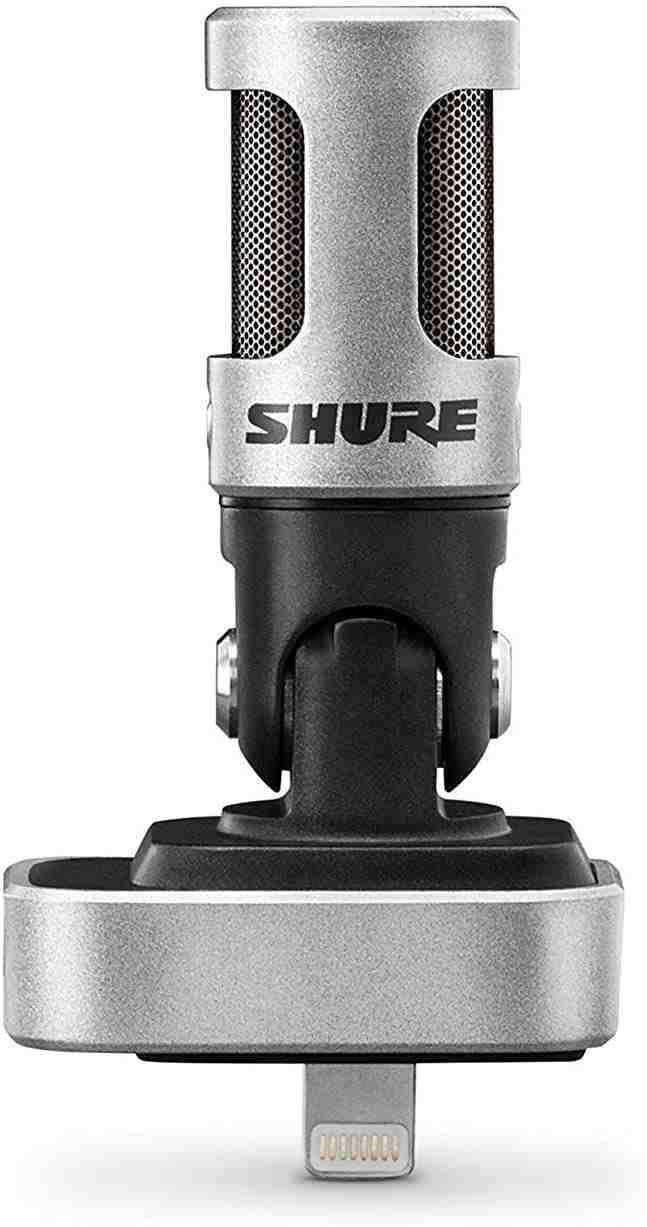 Shure - best microphone for iPhone 12
