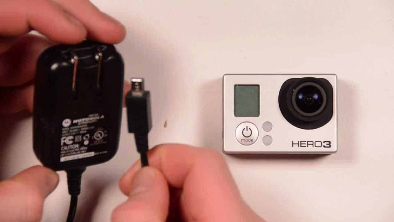usb type - HOW TO CHARGE GOPRO