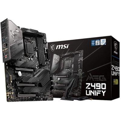 MSI MEG Z490 UNIFY - BEST GAMING MOTHERBOARDS FOR I9