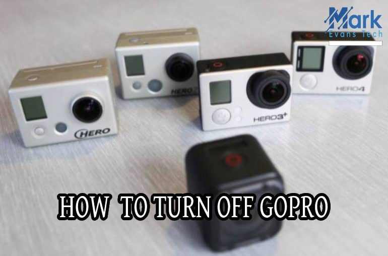 How to turn off GoPro