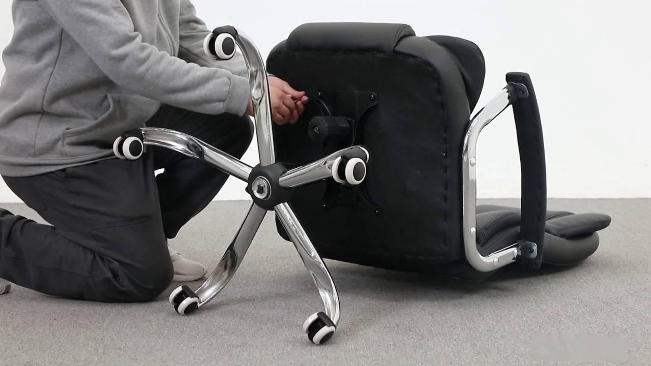dissasembling chair - reupholster an office chair