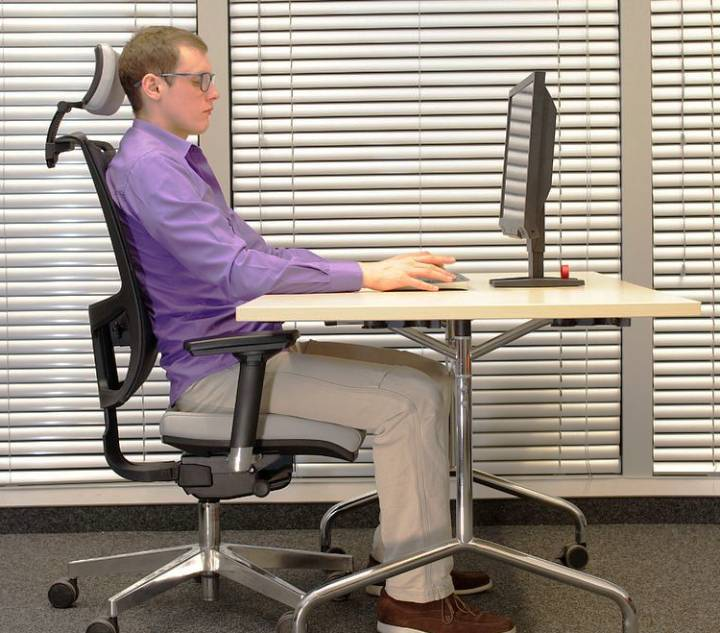 office chair -raise office chair without lever